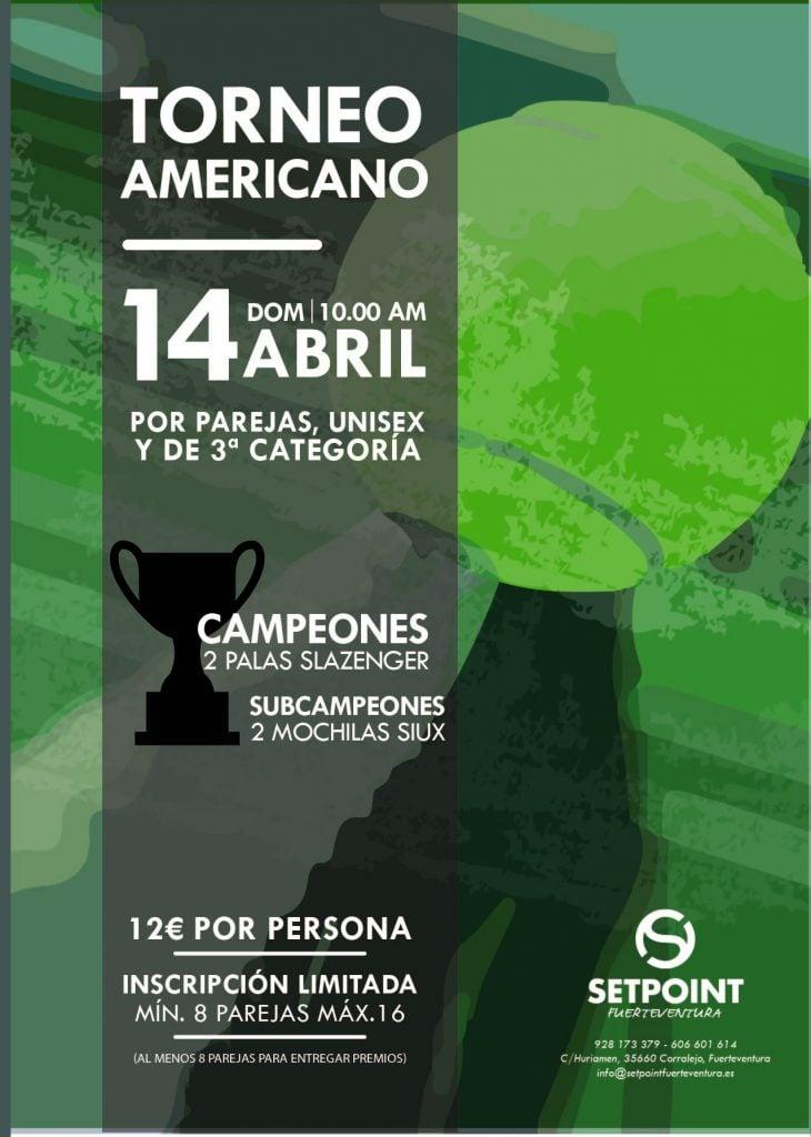 Torneo Americano Padel