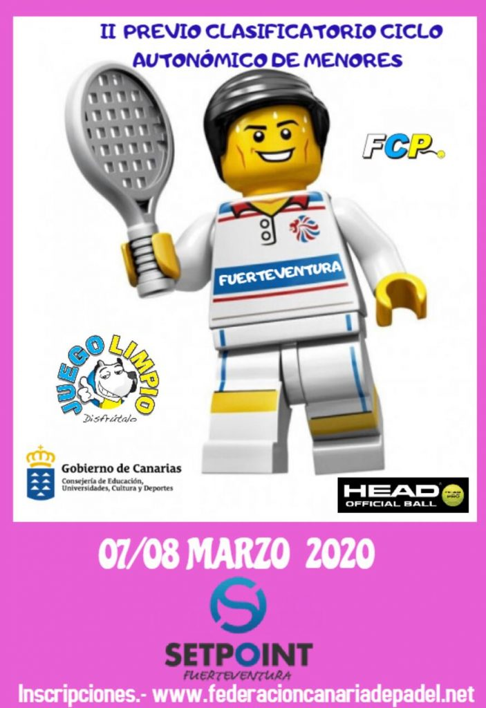 Torneo Challenger Setpoint Fuerteventura del 16 al 19 de mayo